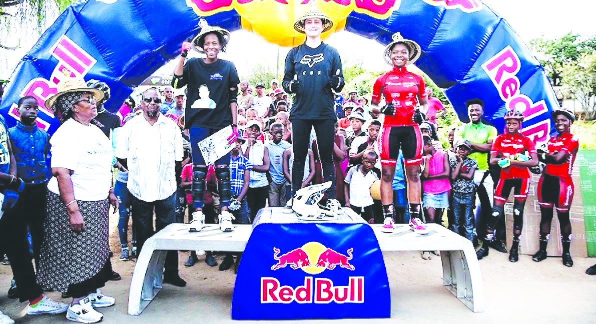 Photo of Lesotho off to pump track race