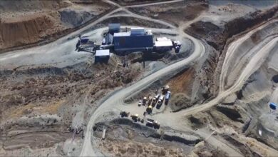 Photo of Mines face closure