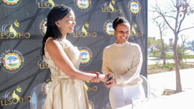 Photo of Miss Lesotho 2021